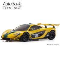KYOSHO - AUTOSCALE MINI-Z McLAREN P1 GTR YELLOW-GREEN (W-MM) MZP235YG