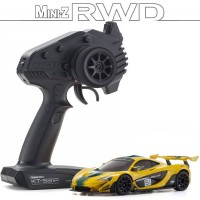 KYOSHO - MINI-Z RWD McLAREN P1 GTR YELLOW/GREEN (W-MM/KT531P) 32324YG