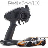 KYOSHO - MINI-Z RWD McLAREN P1 GTR SILVER/ORANGE (W-MM/KT531P) 32324SO