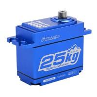 POWER HD - SERVO HD LW-25MG WATERPROOF CORELESS (25.0KG/0.14SEC) HD-LW-25MG