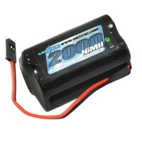 VOLTZ - RX 4.8V 2000MAH NIMH SQUARE BATTERY PACK W/CONNECTOR VZ0151