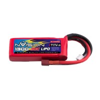 NVISION - LIPO 3S-11.1V-1300-30C - DEANS NVO1808