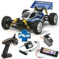 TAMIYA - LOT COMPLET TT-02B BUGGY NEO SCORCHER 58568L