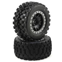 PROLINE - X-MAXX BADLANDS MX43 PRO-LOC PRE-MOUNTED ALL TERRAIN TIRES (MX43) 10131-13
