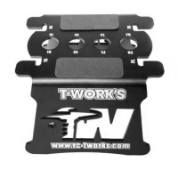 T-WORK'S - STAND ALU POUR 1/8 & 1/10 TT-017