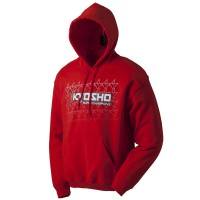 KYOSHO - HOODIE K-FADE 2.0 RED 2016 KYOSHO - 3XL 88004-3XL