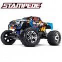 TRAXXAS - STAMPEDE ROCK N'ROLL 4x2 1/10 BRUSHED TQ 2.4GHZ - iD W/O AQ/CH 36054-4