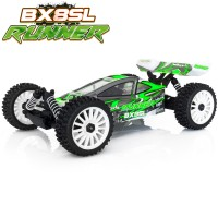 HOBBYTECH - 1/8 BUGGY RTR BX8 RUNNER GREEN TYPE SL BRUSHED 1.SL.BX8.RUNNER-G