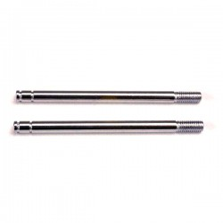 TRAXXAS - SHOCK SHAFTS STEEL, CHROME FINISH (LONG) (2) 1664