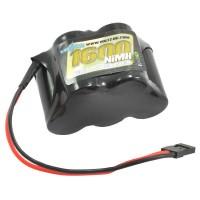 VOLTZ - RX 6.0V 1600MAH NIMH PACK HUMP (JR PLUG) VZ0112