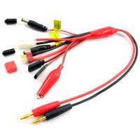 ETRONIX - 4MM PLUG TO GLOW/TAMIYA/DEANS/ JR TX+RX AND FUTABA TX+RX PVC ET0279