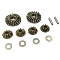T-WORK'S - METAL P/M DIFF. GEAR FOR KYOSHO MP9/MP10 TO-250-K