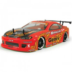 FTX - BANZAI 2.4GHZ 4WD RTR 1/10 BRUSHED DRIFT CAR FTX5529