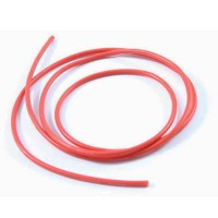 ETRONIX - 12 AWG SILICONE WIRE RED (100CM) ET0670R