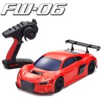 KYOSHO - FW06 AUDI R8 LMS 2015 ROUGE READYSET (KT231P/KE15SP) 33210B
