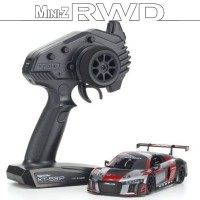 KYOSHO - MINI-Z RWD AUDI R8 LMS 2015 GRAY-RED (W-MM/KT531P) 32323RGB