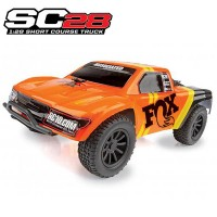 TEAM ASSOCIATED - AE QUALIFIER SERIES SC28 1:28 SC FOX FACTORY TEAM TRUCK AS20157