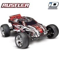 TRAXXAS - RUSTLER - 4x2 - RED - 1/10 BRUSHED TQ 2.4GHZ - iD 37054-1-RED