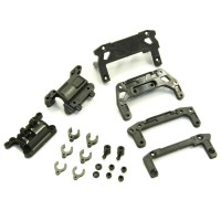 KYOSHO - REAR CHASSIS SET MINI-Z AWD DWS MDW100-02