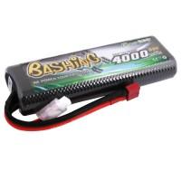 GENS ACE - BATTERIE LIPO 50C 4000MAH 7.4V HC FT BASHING B-50C4000-2S1P8