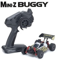 KYOSHO - Mini-Z MB010 4WD 1/24 INFERNO MP9 TKI3 BLANC/NOIR - READYSET 32091WBK