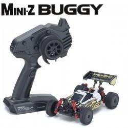 KYOSHO - MINI-Z MB010 4WD 1/24 INFERNO MP9 TKI3 WHITE/BLACK - READYSET 32091WBK