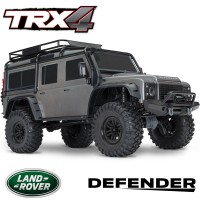 TRAXXAS - TRX-4 LAND ROVER DEFENDER SILVER RTR 82056-4-SILVER