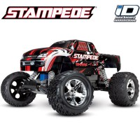 TRAXXAS - STAMPEDE 4x2 ROUGE 1/10 BRUSHED TQ 2.4GHZ - iD 36054-1-REDX