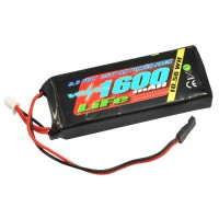 VOLTZ - 1600MAH 2S 6.6V RX LIFE STRAIGHT BATTERY PACK VZ0250