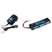 TEAM ORION - COMBO EP CHARGEUR IQ801 (EU-220V) / PACK 7.2V SPORT 1800 NIMH ORI30201