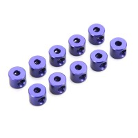 KYOSHO - 2MM LINKAGE STOPPER (10) / BLUE W0151