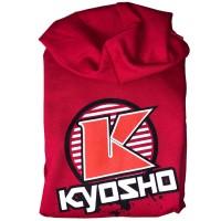 KYOSHO - HOODIE K-CIRCLE 2019 RED XL-SIZE 88007XL