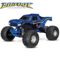 TRAXXAS - BIGFOOT FIRESTONE 4X2 1/10 BRUSHED TQ 2.4GHZ - ID 36084-1-FIRE
