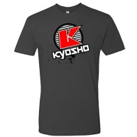 KYOSHO - T-SHIRT K-CIRCLE GREY KYOSHO - XL-SIZE 88009XL