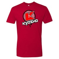 KYOSHO - T-SHIRT K-CIRCLE RED KYOSHO - XL-SIZE 88008XL
