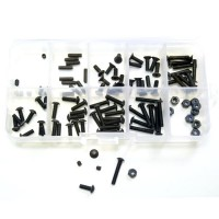 ABSIMA - SCREW SET 1/10EME (100PCS) 3020001