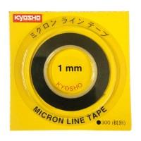 KYOSHO - MICRON TAPE - (BLACK) 1MM X 5M 1841BK