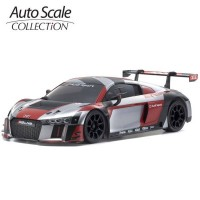 KYOSHO - A.S.C. MINI-Z AUDI R8 LMS 2015 GRAY-RED (W-MM) MZP234RGB