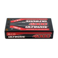 ULTIMATE - LIPO 2S HV GRAPHENE LCG SHORTY 120C 4000MAH UR4443
