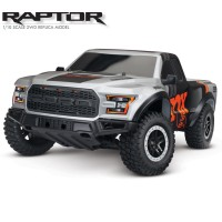 TRAXXAS - FORD RAPTOR F-150 FOX - 4x2 1/10 BRUSHED TQ 2.4GHZ - iD 58094-1-FOX