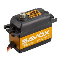 SAVOX - SV-1273TG DIGITAL TITANIUM GEAR SERVO 16KG 0.065S (HIGH VOLTAGE) SV-1273TG