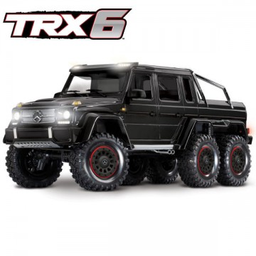 TRAXXAS - TRX-6 MERCEDES BENZ CLASSE G 63 AMG 6X6 NOIR RTR 88096-4-BK