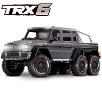 TRAXXAS - TRX-6 MERCEDES BENZ CLASSE G 63 AMG 6X6 ARGENT RTR 88096-4-SLVR