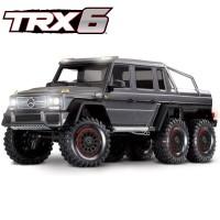 TRAXXAS - TRX-6 MERCEDES BENZ CLASSE G 63 AMG 6X6 SILVER RTR 88096-4-SLVR