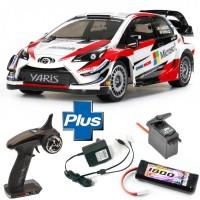 TAMIYA - PACK READYSET TOYOTA KIT TT-02 YARIS WRC GAZOO RACING 58659L