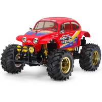 TAMIYA - VINTAGE RC MONSTER BEETLE BLACK EDITION KIT 47419