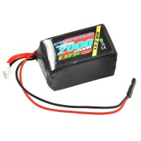 VOLTZ - 2000MAH 2S 6.6V RX LiFe HUMP BATTERY PACK VZ0251