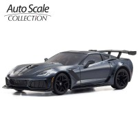 KYOSHO - A.S.C. MINI-Z CHEVROLET CORVETTE ZR1 SHADOW GREY (W-MM) MZP240GM