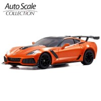 KYOSHO - A.S.C. MINI-Z CHEVROLET CORVETTE ZR1 SEBRING ORANGE (W-MM) MZP240OR