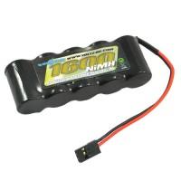 VOLTZ - RX 6.0V 1600MAH NIMH STARIGHT PACK (JR PLUG) VZ0111